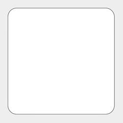 角丸型コースター
