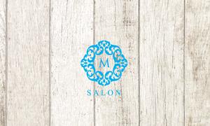 サロンのフェイクロゴ