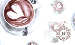 カフェのフェイクロゴ