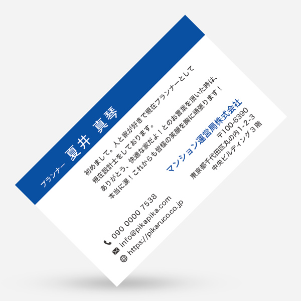 ビジネス名刺の7538